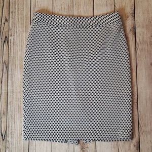 Banana Republic Bond Lace Pencil Skirt, Size 6P